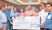 DSE, Meghna  Petroleum contribute  Tk 23mn to BLWF