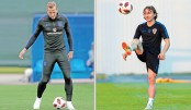 England, Croatia face off tonight for final