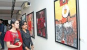 Painting exhibition Ruposhi Bangla underway at AFD