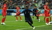 Umtiti heads France into World Cup final as Belgium fall short