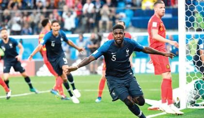 France reach WC final