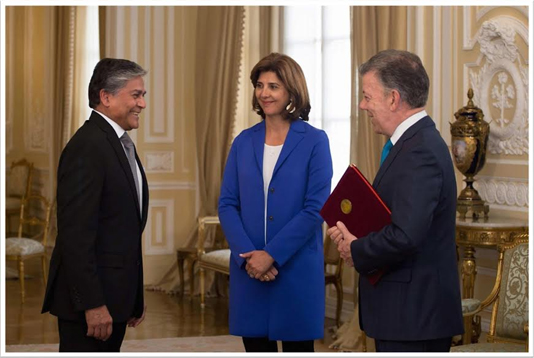 Bangladesh Ambassador presents credentials to Colombian President