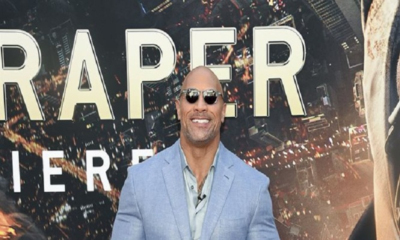 Dwayne Johnson honors amputee community with 'Skyscraper'