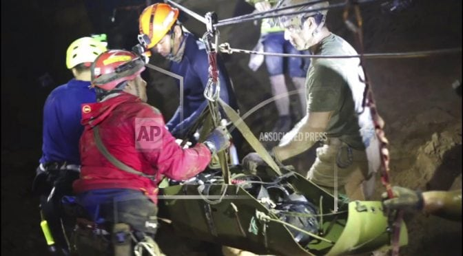 Mission accomplished and boys healthy, rescuers head home