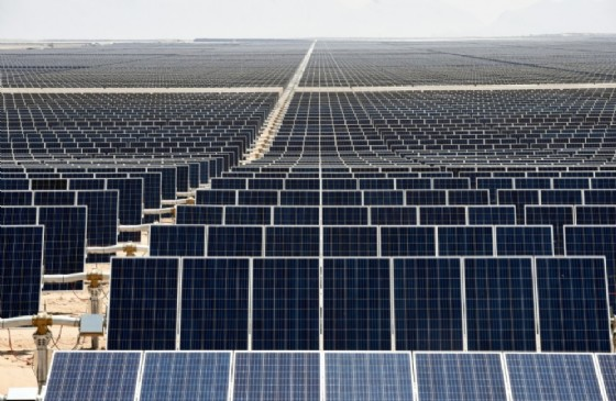 Latin America's solar park turns Mexican desert green
