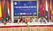 Bangladeshi Artists Partake In 1st South Asian Int'l Art Camp