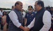 Indian home minister in city
