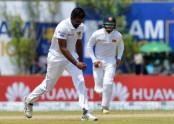 Perera puts Sri Lanka on top in 1st Test