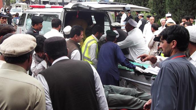 Bomb at Pakistan election rally kills 25