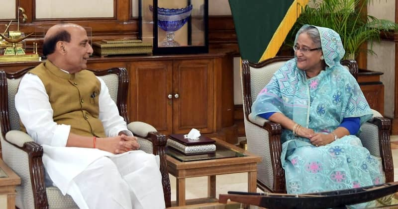 Rajnath finds meeting with Prime Minister Hasina 'extremely fruitful'