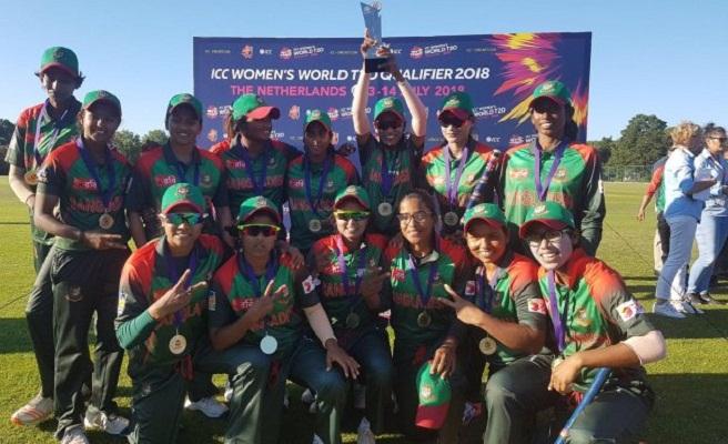 Bangladesh clinch Women's WT20 Qualifiers title beating Ireland