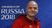 FIFA president Infantino celebrates 'best World Cup' ever