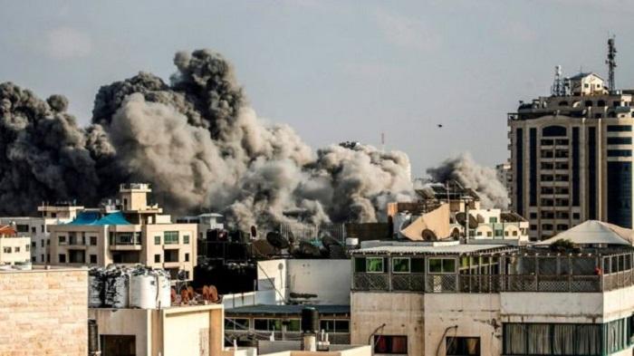 Wave of Israeli Gaza strikes amid surge in rocket attacks