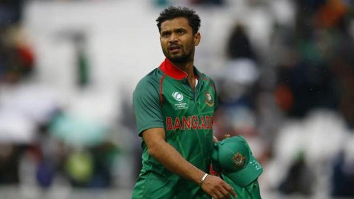 Mashrafe to leave for West Indies Monday