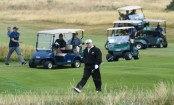 Trump to leave UK after two-night stay