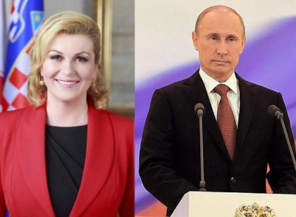 Putin, Macron, Kitarovic to attend World Cup final