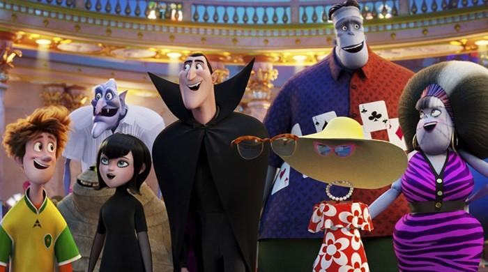'Hotel Transylvania' books spot at top of box office