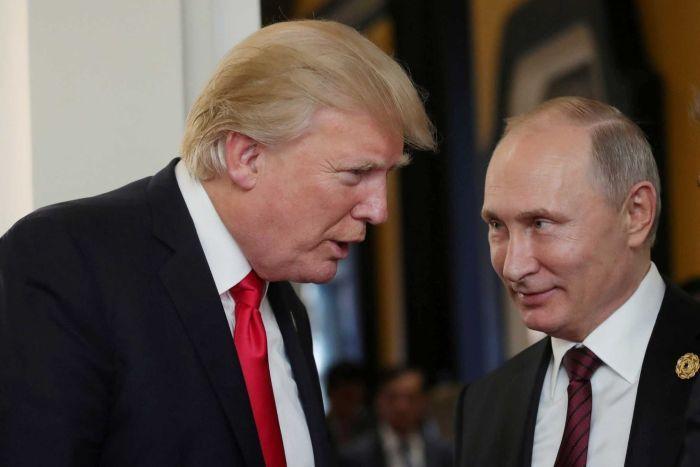 Trump-Putin summit: US leader cautious ahead of Helsinki talks