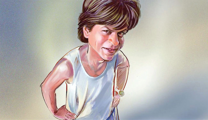 SRK brings a smile on my face:  Zero director