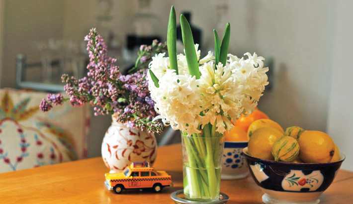 Floral Embellishments At Your Home