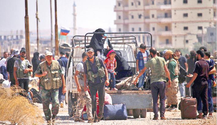 Syria rebels begin evacuating 'cradle' of uprising in Daraa