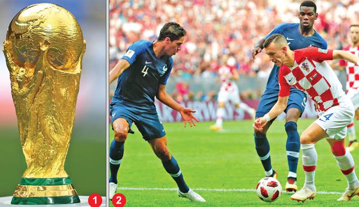 FIFA World Cup final France vs Croatia