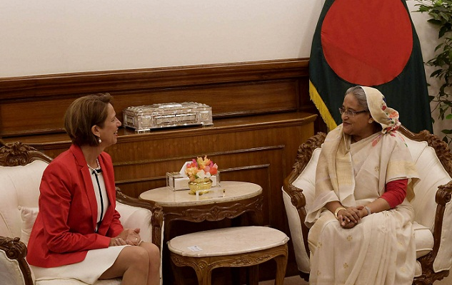PM urges UN to persuade Myanmar to take back Rohingyas