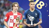 Modric wins Golden Ball, Mbappe young player award