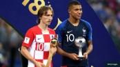 Modric wins World Cup Golden Ball, Mbappe best young player