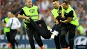 Pussy Riot claim responsibility for World Cup final pitch invasion