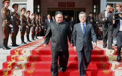Indonesia invites Korean leaders Moon, Kim to Asian Games