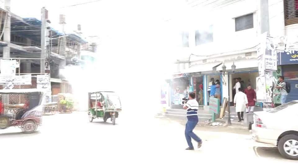 Crude bombs exploded at BNP rally in Rajshahi, 5 hurt