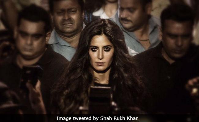 Shahrukh shares Katrina's first look from 'Zero'