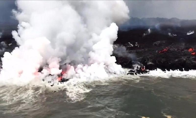 Kilauea volcano: Flying lava injures 23 in Hawaii