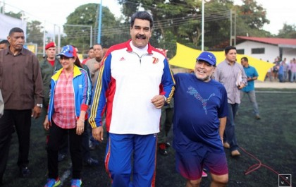 'Africa real' World Cup winners: Maduro