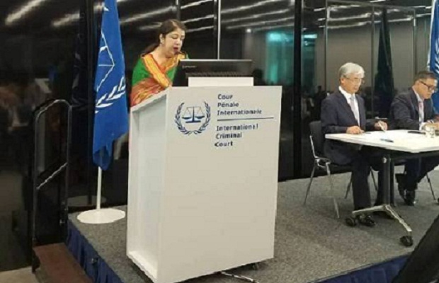 Dhaka for ending impunity, highlights plight of Rohingyas in ICC