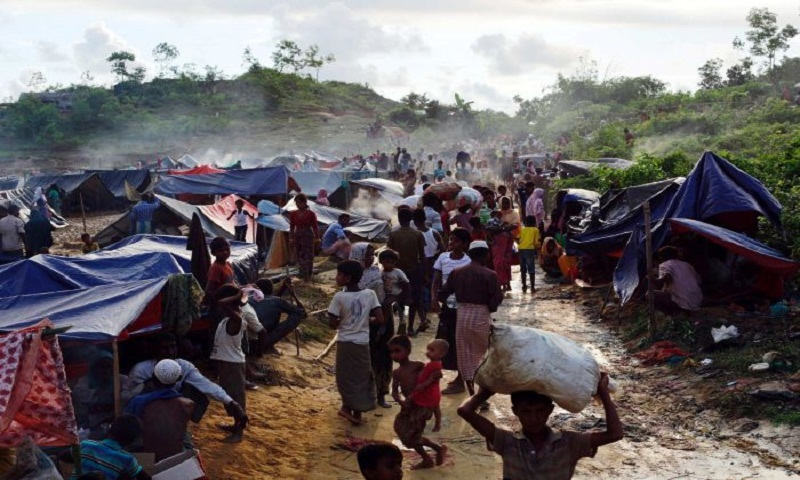 UN seeks political solution to Rohingya crisis