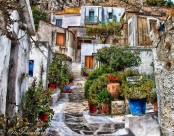 A bit of the Greek islands in the heart of historic Athens
