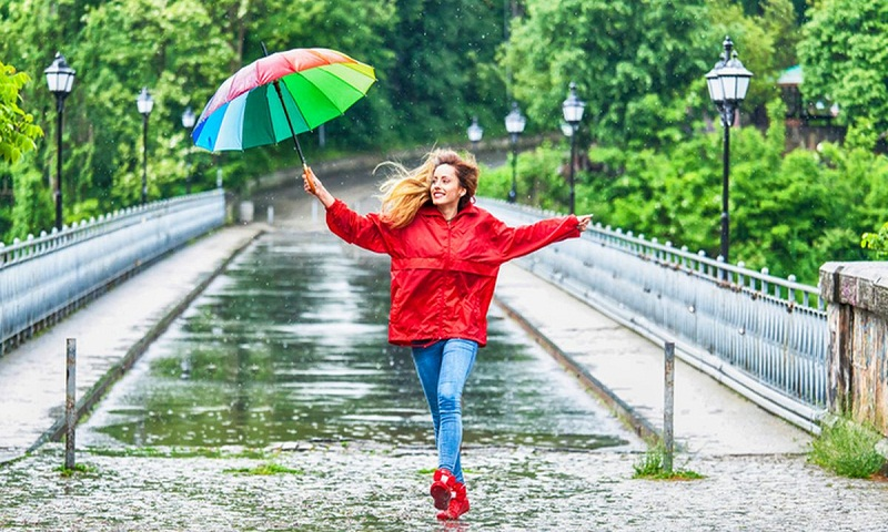 Stick to your beauty routine during rains