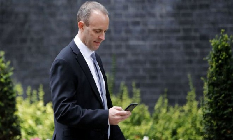 New Brexit Secretary Dominic Raab set for talks with EU