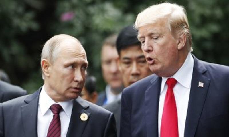 Trump invites Putin to visit US