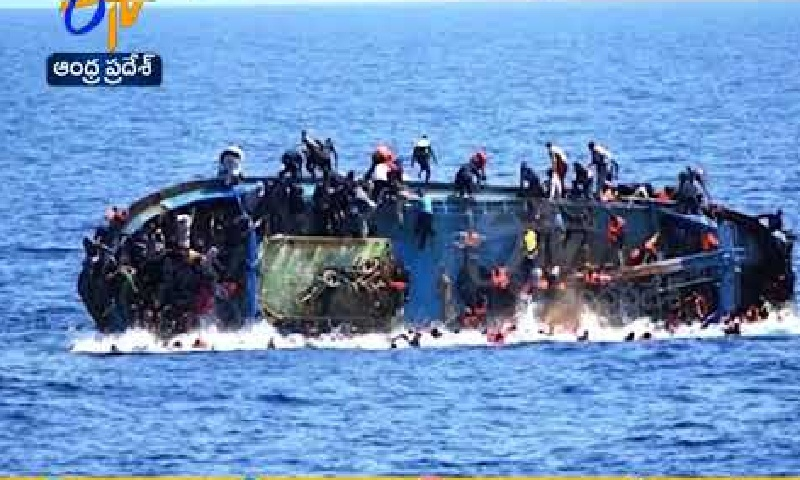 Boat with 160 African migrants reportedly capsizes off Yemen