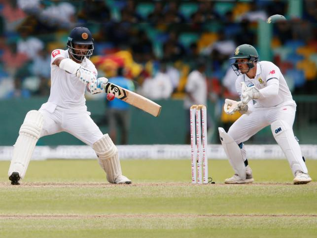 Lankan openers provide solid start in 2nd Test