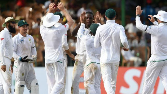 Sri Lanka 277-9 at stumps in second South Africa test