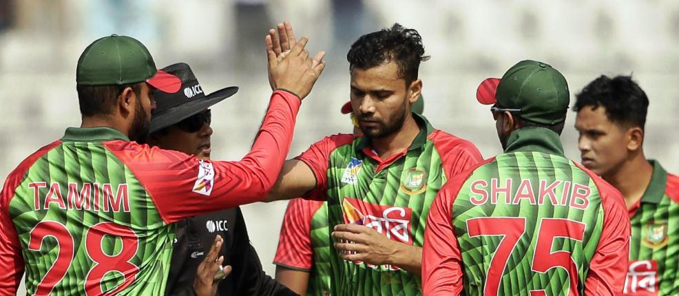Bangladesh, West Indies first ODI Sunday
