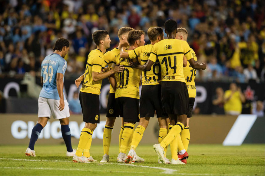 Dortmund ease past Man City in Champions Cup opener