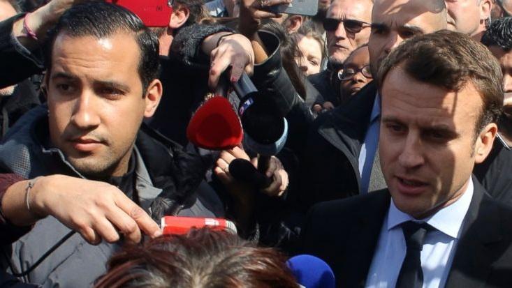 French investigators raid home of Macron's bodyguard