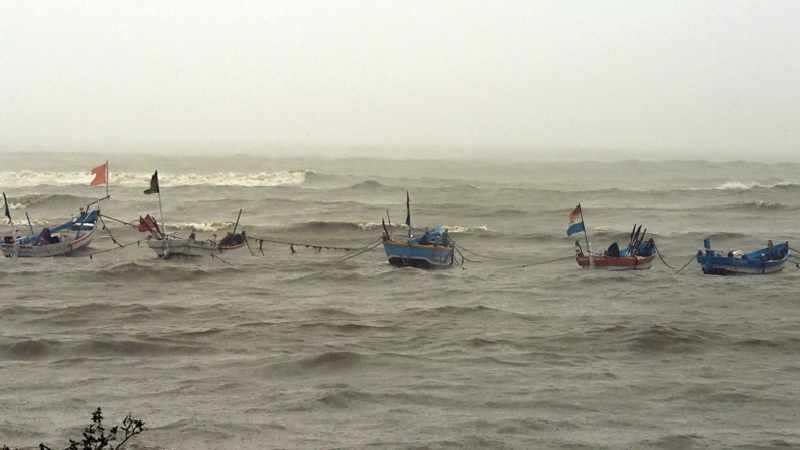 17 fishermen missing in sea