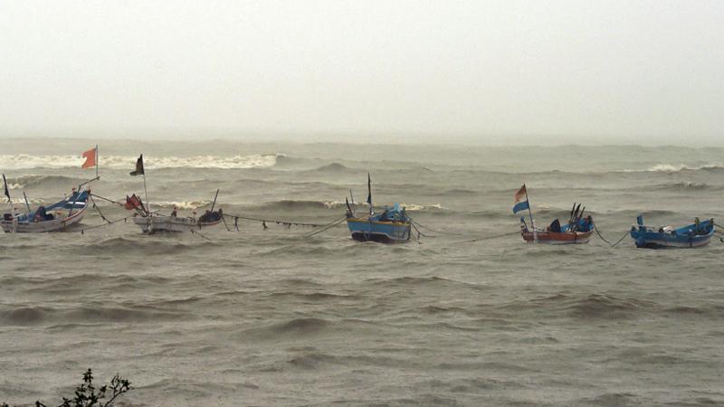 17 fishermen missing in sea