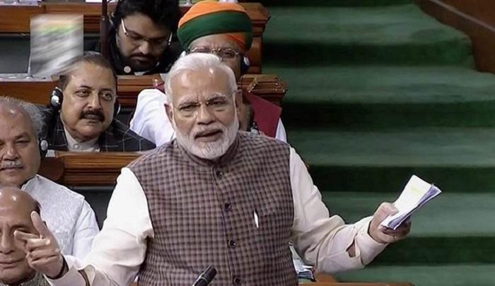 Indian PM Modi comeback after Rahul Gandhi attack